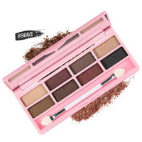 New 8 Colors BYNANDA Professional Eyeshadow Pallete Women Natural Facial Beauty Make Up Cosmetics Shades Eye Shadow Set