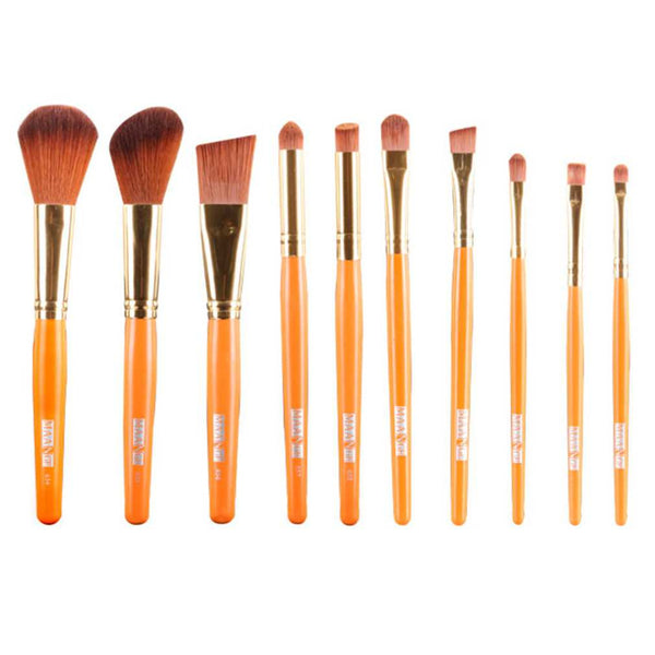 19pcs Cosmetic Brush Makeup Brushes Set Eyeshadow Blending Brush Powder Foundation Eyebrow Lip Eyeliner Brush Beauty Tool
