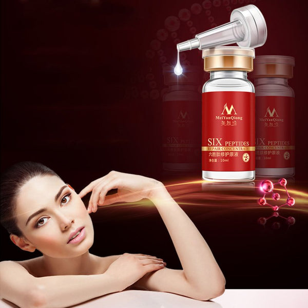 Maquiagem Aloe Vera Collagen Peptides Rejuvenation Argireline Sexy Beauty Anti Wrinkle Serum Face Skin Care Products Women