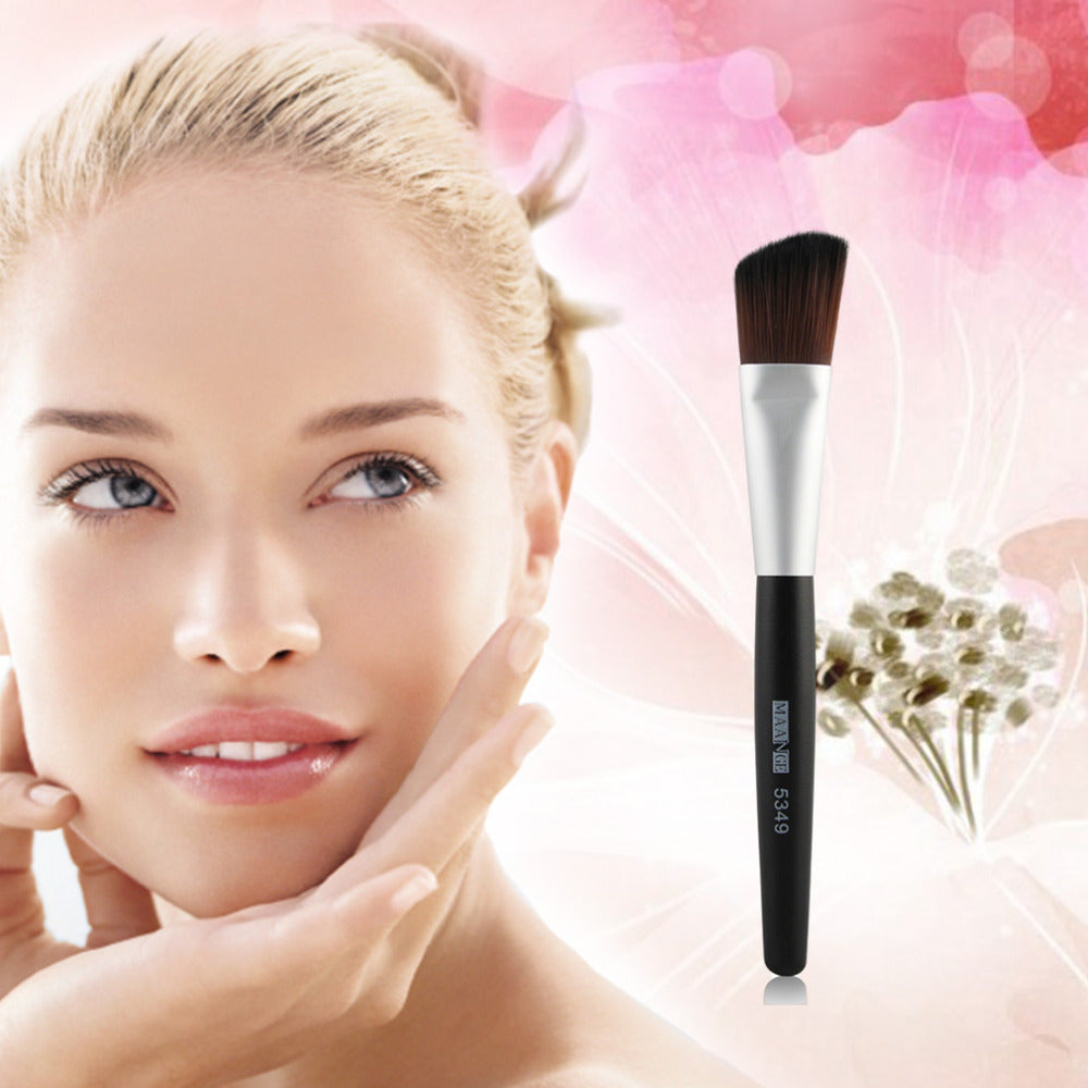5349 Professional Inclined Head Makeup Cosmetics Blending Powder Foundation Brush Woman Make Up Beauty Tool