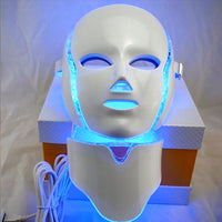 The Best 7 Color LED light therapy Face Mask Session Anti-Aging device Rejuvenation Therapy Makes treatment Massage Relaxation