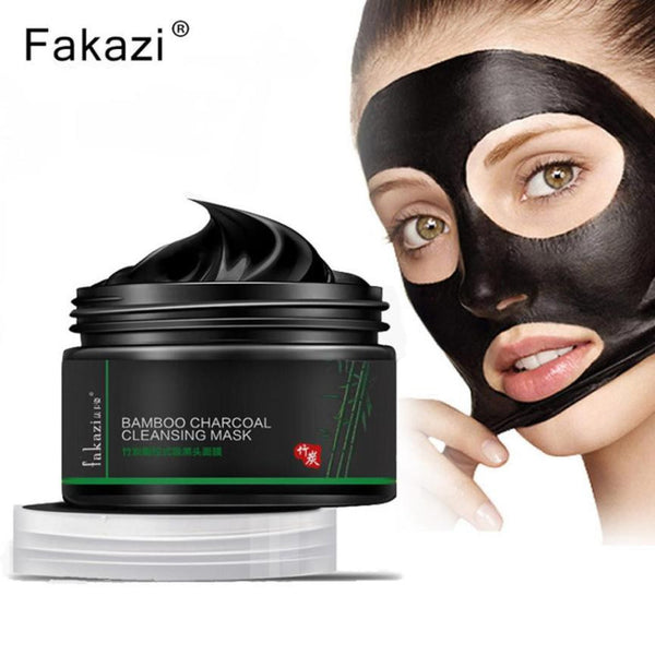 New Fashion  Black Mud Deep Cleaning Blackhead Remover Purifying Peel Face Mask Skin Cleaning Tool 2*