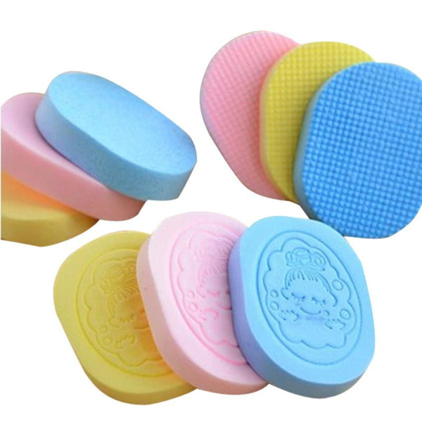 New Natural Cosmetic Puff Facial Beauty Cleanse Washing Sponge Exfoliator Removal Skin Care Cleaning Sponge
