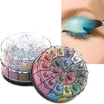 Eye Makeup Set 20 Shimmer Earth Color Matte Pigment Eyeshadow Palette Cosmetic Shimmer Eye Shadow Make Up Kit maquiagem#622