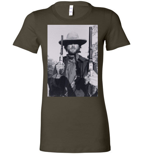 Clint Eastwood Western Sergio Leone, Bella Ladies Favorite Tee