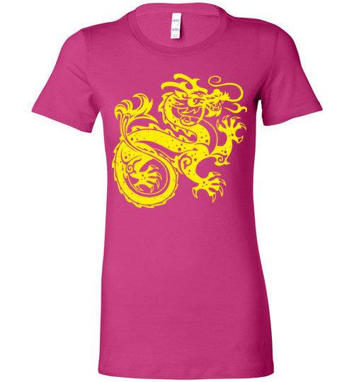 Chinese Dragon v2 , Bella Ladies Favorite Tee