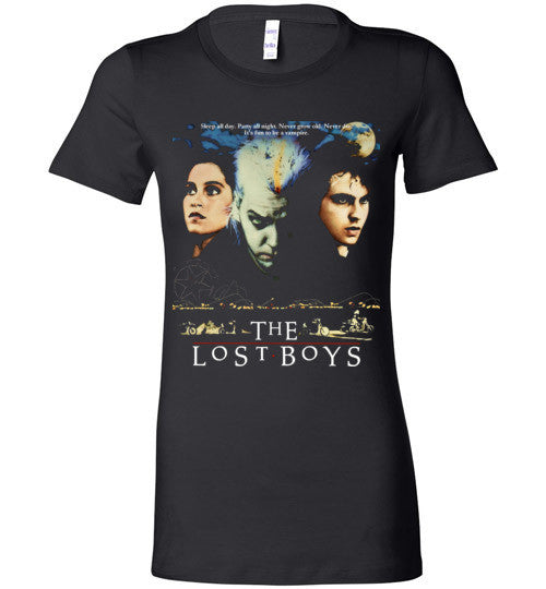 The Lost Boys Vampires Horror Movie , 3 , Bella Ladies Favorite Tee