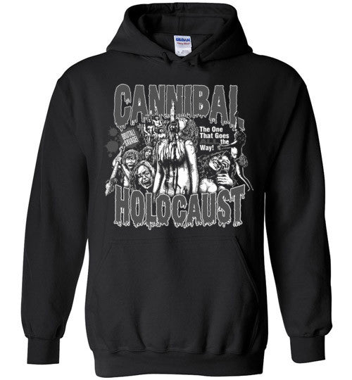 Cannibal Holocaust Ruggero Deodato Horror Zombies Movie , v2, Gildan Heavy Blend Hoodie