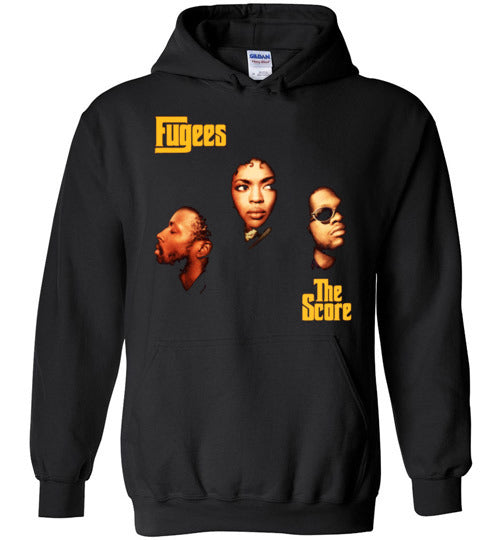 Fugees,The Score,1996 Album Cover,Lauryn Hill,Classic Hip Hop,Gildan Heavy Blend Hoodie