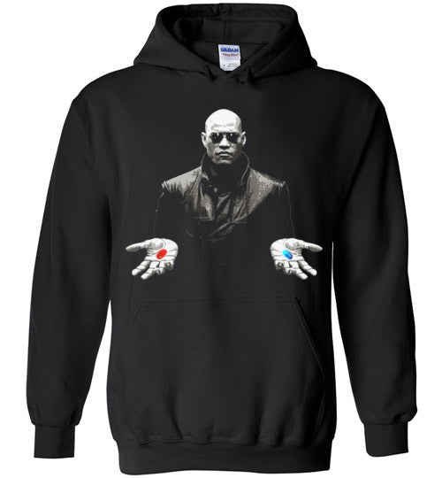 matrix morpheus red or blue pill,Hoodie