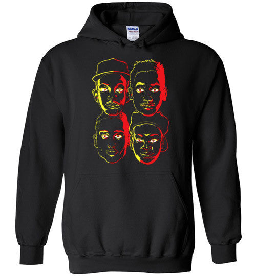 ATCQ A Tribe called Quest Classic Hip Hop New York City Low End Theory Phife Dawg Q-tip , v3, Gildan Heavy Blend Hoodie