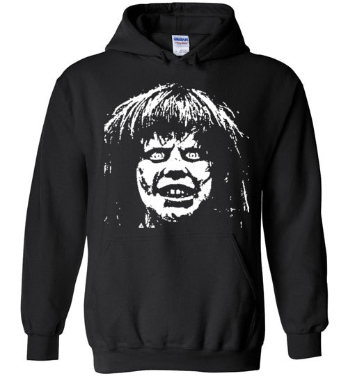 The Exorcist Linda Blair Classic Horror Movie Occult Supernatural Demons Satan ,v2,Gildan Heavy Blend Hoodie