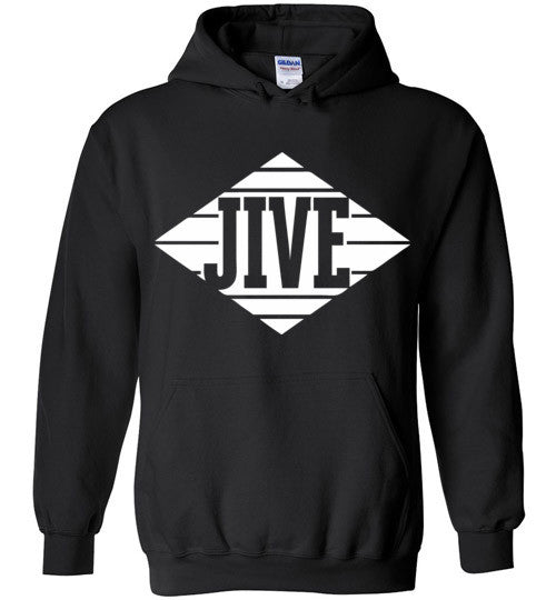 Jive Records Classic Hip Hop , Gildan Heavy Blend Hoodie