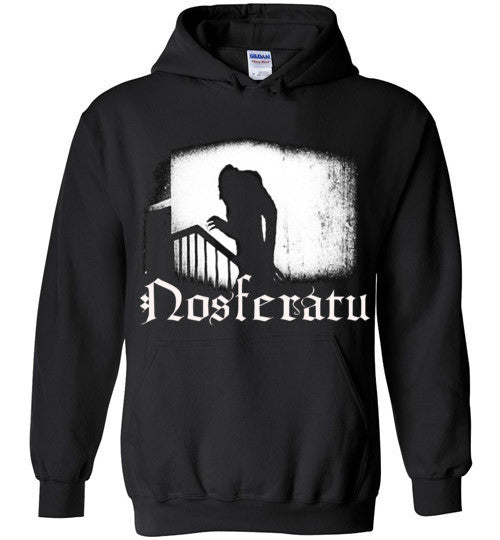 Nosferatu Vampire Dracula Classic Horror Movie v4 , Gildan Heavy Blend Hoodie