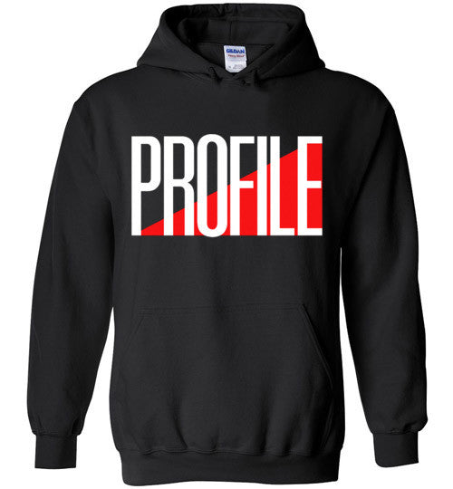 PROFILE Records Classic Hip Hop , Gildan Heavy Blend Hoodie