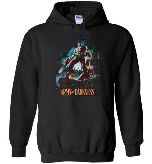 Evil Dead Army Of Darkness Horror Zombies v7, Gildan Heavy Blend Hoodie