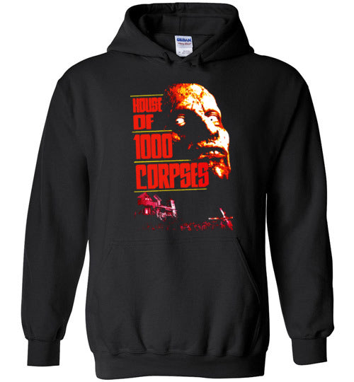 House of 1000 Corpses, Rob Zombie,Captain Spaulding, Classic Horror Film,v2,Gildan Heavy Blend Hoodie