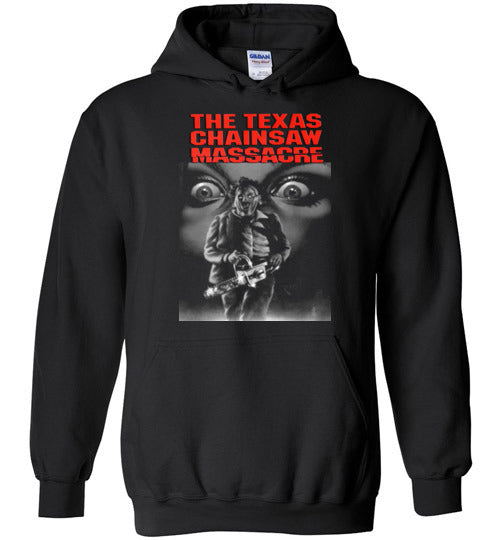 The Texas Chain Saw Massacre,1974 horror film,Leatherface,Ed Gein, slasher,v1,Gildan Heavy Blend Hoodie