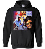 NWA 100 Miles And Runnin' Dr Dre Eazy E Yella MC Ren v6, Gildan Heavy Blend Hoodie