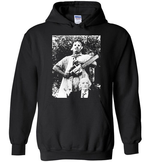 The Texas Chain Saw Massacre,1974 horror film,Leatherface,Ed Gein, slasher,v8a,Gildan Heavy Blend Hoodie