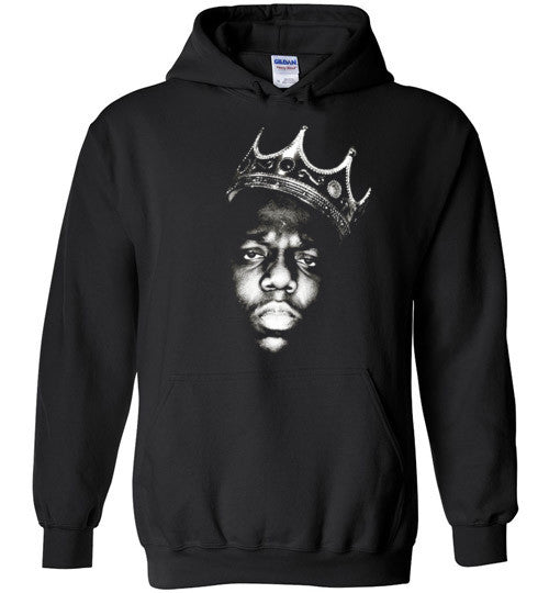 Notorious BIG Biggie Smalls Big Poppa Frank White Christopher Wallace,Bad Boy Records, Hip Hop New York Brooklyn,v1,Gildan Heavy Blend Hoodie
