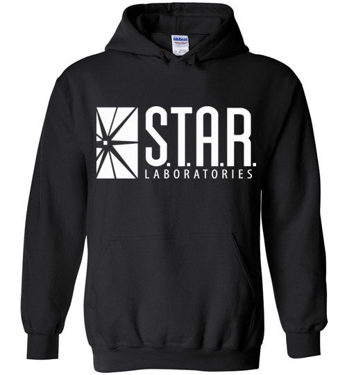 Star Laboratories , Star Labs , The Flash , Gildan Heavy Blend Hoodie