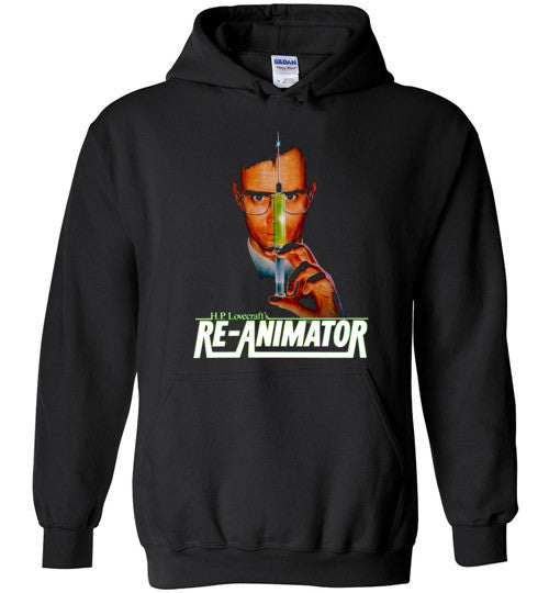 Re-animator H. P. Lovecraft , Gildan Heavy Blend Hoodie , v3