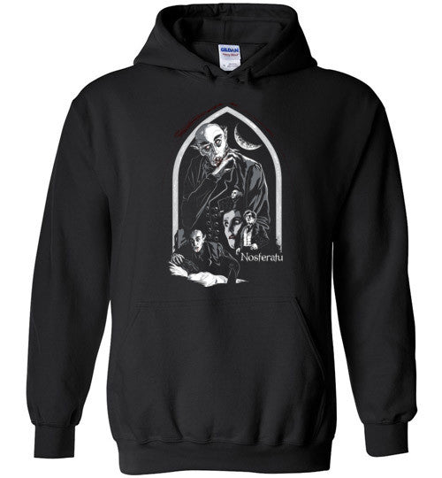 Nosferatu Vampire Dracula Classic Horror Movie , Gildan Heavy Blend Hoodie , v5