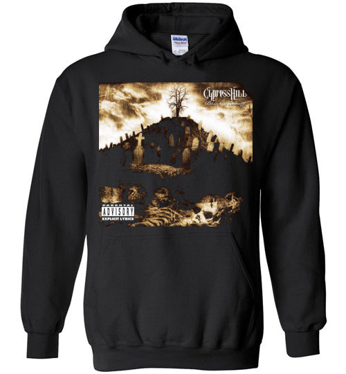 Cypress Hill,Black Sunday,1993 Album,Insane in the Brain,Hand on the Glock,Hits from the Bong,Classic Hip Hop,v1,Gildan Heavy Blend Hoodie