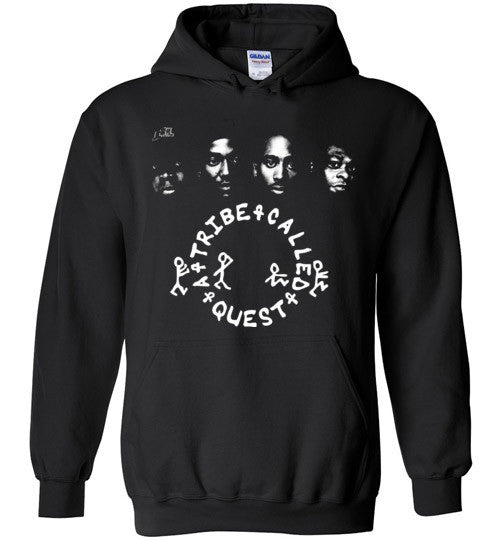 ATCQ A Tribe called Quest Classic Hip Hop New York City Low End Theory Phife Dawg Q-tip ,v7, Gildan Heavy Blend Hoodie