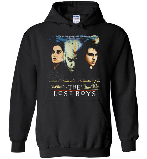 The Lost Boys Vampires Horror Movie , 3 , Gildan Heavy Blend Hoodie