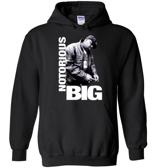 Notorious BIG Biggie Smalls Big Poppa Frank White Christopher Wallace,Bad Boy Records, Hip Hop New York Brooklyn,v9, Gildan Heavy Blend Hoodie