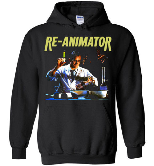 Re-animator H. P. Lovecraft 1985 Horror Movie Classic  v2, Gildan Heavy Blend Hoodie