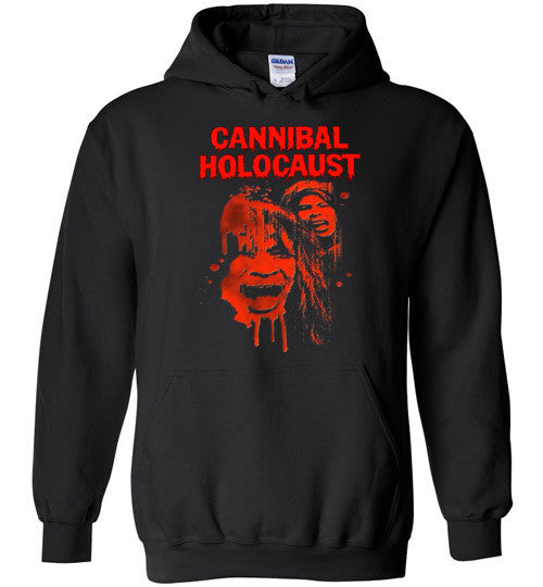 Cannibal Holocaust Ruggero Deodato Horror Zombies Movie, v1, Gildan Heavy Blend Hoodie