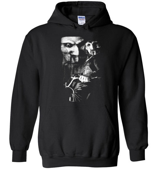 Saw, horror film,v1,Gildan Heavy Blend Hoodie