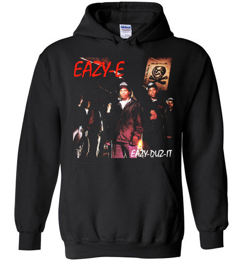 Eazy-E NWA Ruthless Records Eazy E Gangster Rap Hip Hop, Eazy Duz It, v2, Gildan Heavy Blend Hoodie
