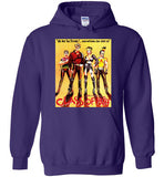 Class of 1984 action crime thriller movie v1, Gildan Heavy Blend Hoodie