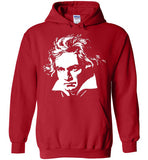 LUDWIG VAN BEETHOVEN Portrait Composer Classical Music Romantic ,v3,Hoodie