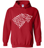 House Stark , Game Of Thrones , Gildan Heavy Blend Hoodie