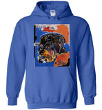 Jean Michel Basquiat Artist Graffiti Icon Art Genius Designer New York City Fashion Street Wear v2, Gildan Heavy Blend Hoodie