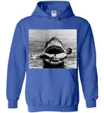 JAWS Movie Steven Spielberg Taking a Break Rare Vintage Style, Gildan Heavy Blend Hoodie