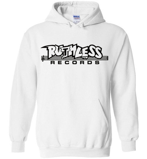 Ruthless Records, Eazy e,nwa,ice cube,dr dre,compton, Hip Hop , Black Print, Gildan Heavy Blend Hoodie