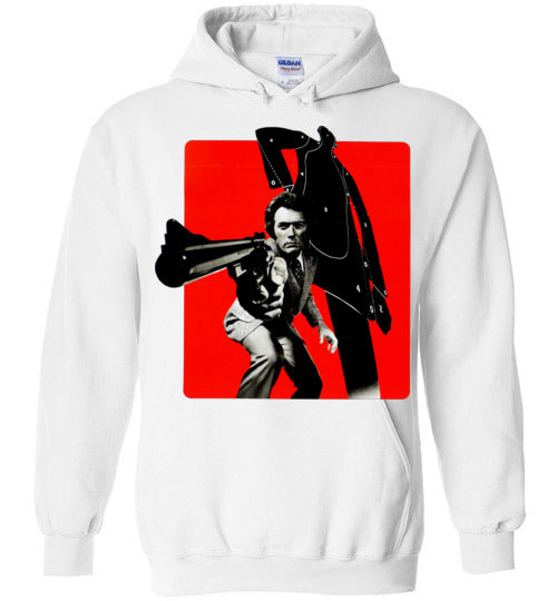 Dirty Harry, Clint Eastwood,Magnum Force,cult classic,movie,v1,Gildan Heavy Blend Hoodie