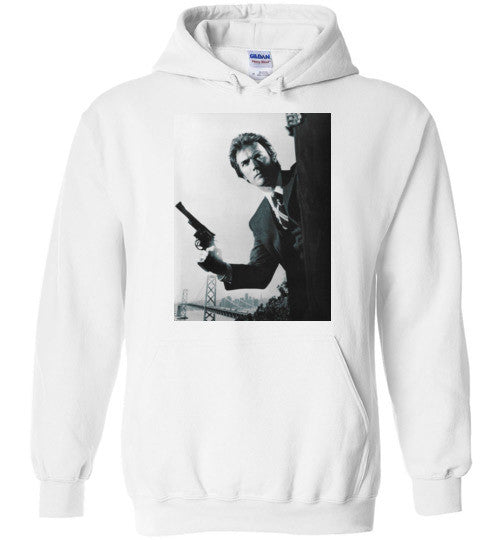 Clint Eastwood Dirty Harry , Gildan Heavy Blend Hoodie