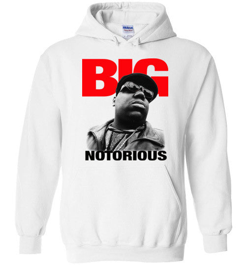 Notorious BIG Biggie Smalls Big Poppa Frank White Christopher Wallace,Bad Boy Records, Hip Hop New York Brooklyn,v4,Gildan Heavy Blend Hoodie