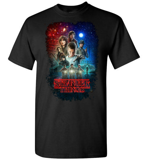Stranger Things Tv Show/Sci Fi/ Netflix Series , v7, Gildan Short-Sleeve T-Shirt