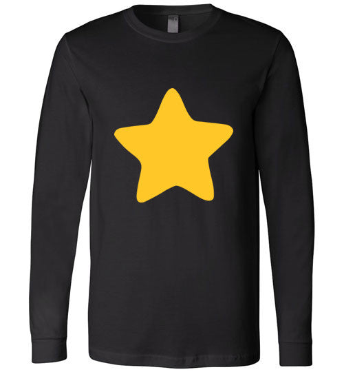 Young Greg Universe Steven Universe Star , Canvas Long Sleeve T-Shirt