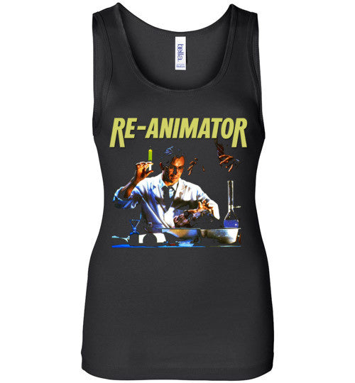 Re-animator H. P. Lovecraft 1985 Horror Movie Classic  v2, Bella Wide Strap Tank