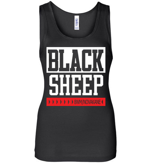 Black Sheep Classic Hip Hop , Bella Wide Strap Tank