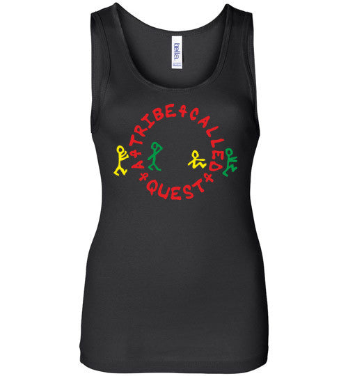 ATCQ A Tribe called Quest Classic Hip Hop New York City Low End Theory Phife Dawg Q-tip, v1a, Bella Wide Strap Tank
